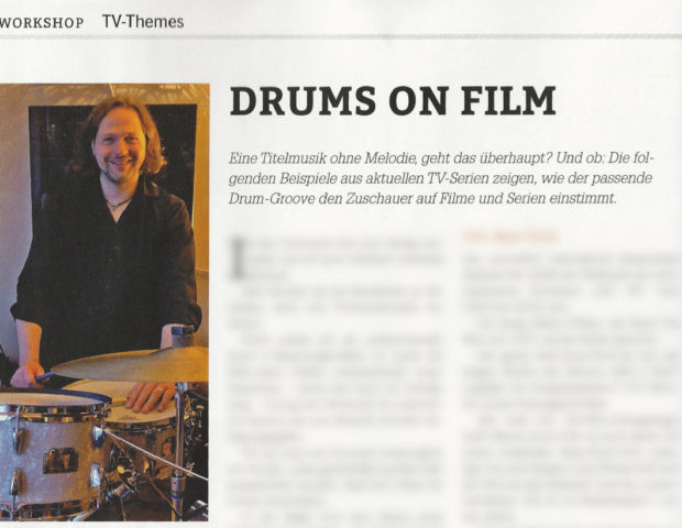 DrumHeads-Workshop TV-Drum-Themes Woody Klausner Vorschau