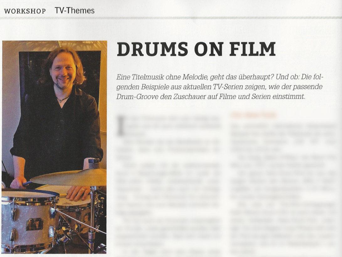 DrumHeads-Workshop TV-Drum-Themes Woody Klausner Vorschau