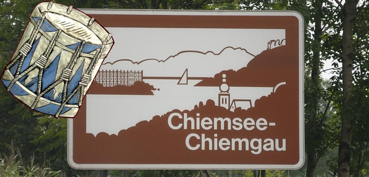 Schild Schlagzeuger Chiemsee-Chiemgau