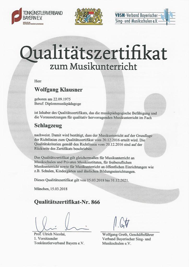Qualitätszertifikat-WolfgangKlausner