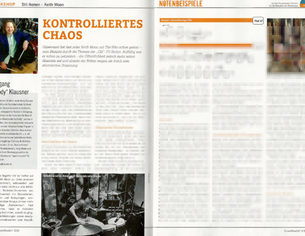 DrumHeads2-2020 Stil-Ikonen - Keith Moon _verpixelt Woody Klausner